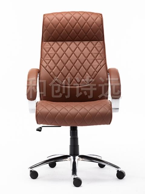 皮质办公椅