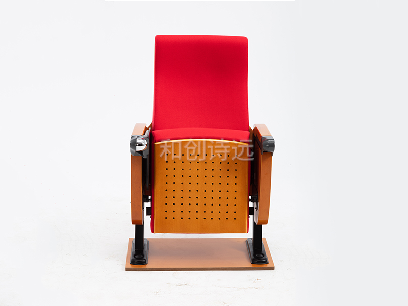 礼堂椅木板背